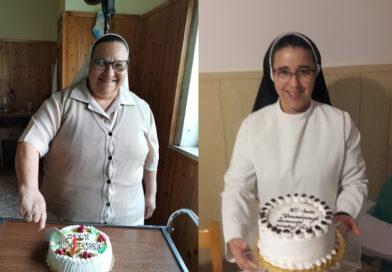 25° Anniversario di Vita Religiosa di Sr. Rony e Sr. Lucja
